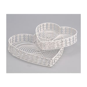 Komplet 2 tac White Baskets