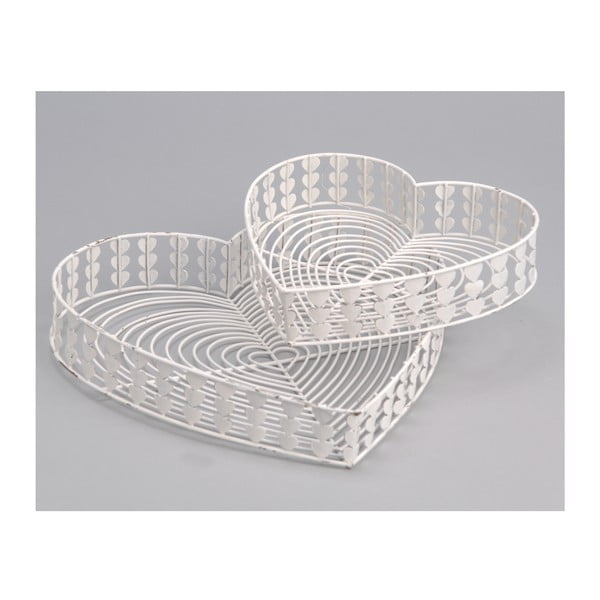 Komplet 2 tac White Baskets