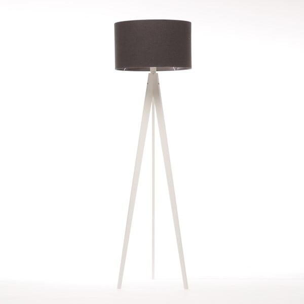 Lampa stojąca Artist Dark Grey Felt/White, 125x42 cm