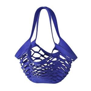Filcowa torebka siatkowa, niebieska