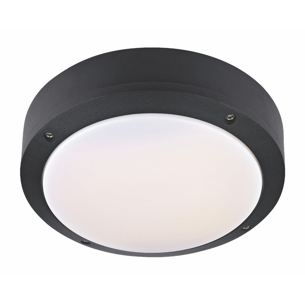Czarna lampa wisząca Markslöjd Luna, ø 22 cm