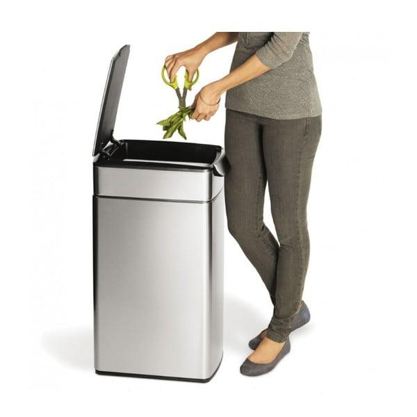 Dotykowy kosz na śmieci simplehuman Tight 40 l