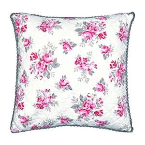 Biała poduszka we wzorki Green Gate Shirley