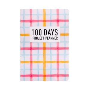 Organizer Languo 100 Days Pattern, kolorowy