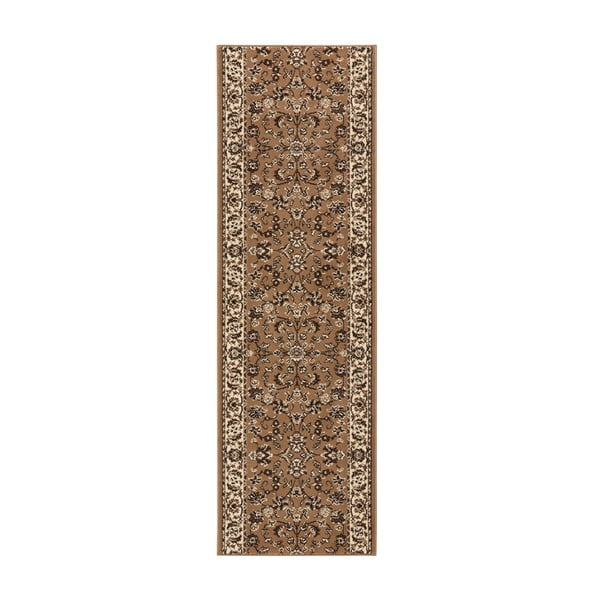 Dywan Basic Vintage, 80x500 cm, jasnobrązowy