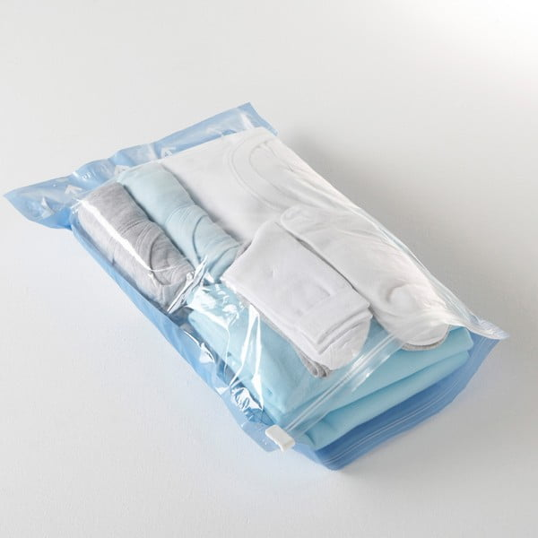 Próżniowe pokrowce na ubrania Compactor Blue, rozm. S, 2 szt.