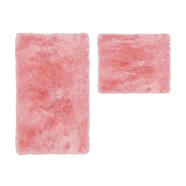 Zestaw 2 dywaników łazienkowych Spotlight Pink