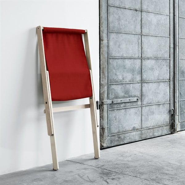Fotel składany Karup Boogie Raw/Red