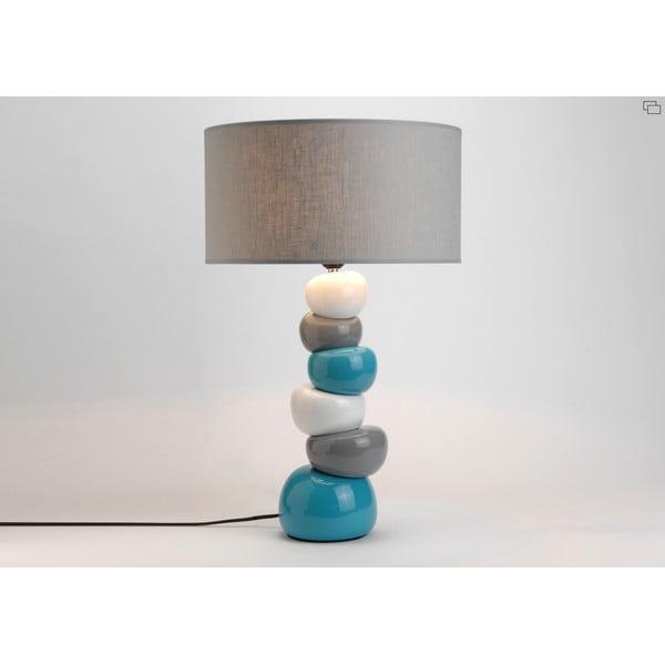 Lampa stołowa Ceramic Turqouise