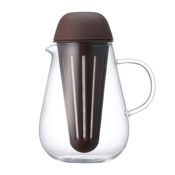 Dzbanek na herbatę  Pengy 720 ml, brązowy