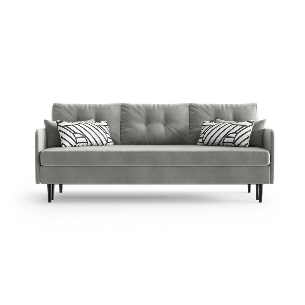 Szara rozkładana sofa Daniel Hechter Home Memphis