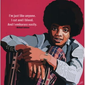 "Obraz ""Michael Jackson - Young"""