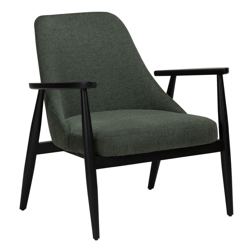 Zielony fotel DAN-FORM Denmark Saga