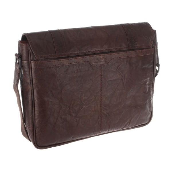 Skórzana torba Livingstone Vintage Brown