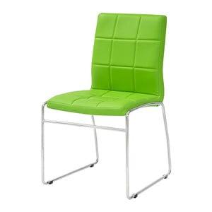 Zielone krzesło Kid