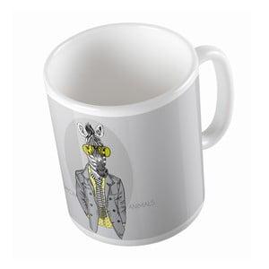 Kubek ceramiczny Dandy Zebra, 330 ml