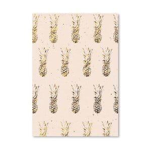 Plakat Americanflat Pineapples, 30x42 cm