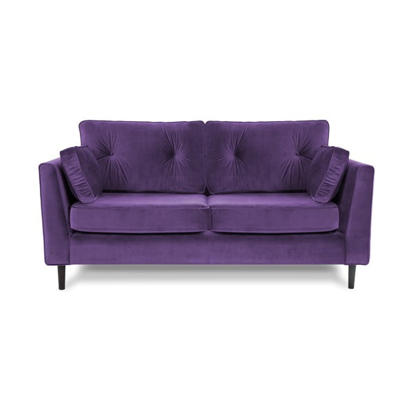 Fioletowa sofa trzyosobowa VIVONITA Portobello