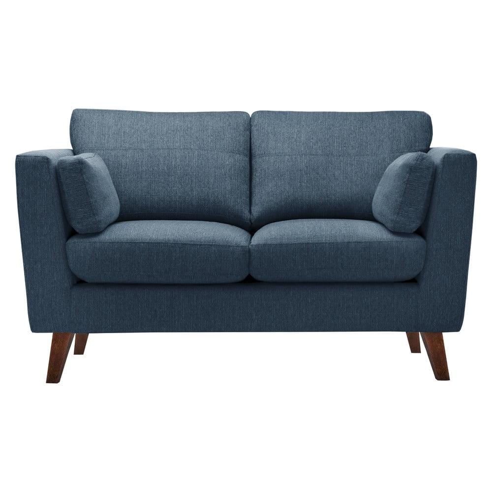 Niebieska sofa Jalouse Maison Elisa, 152 cm