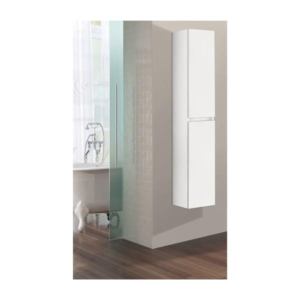 Szafka wisząca do łazienki  Column, odcień bieli