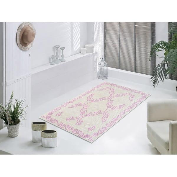 Liliowy wytrzymały dywan Primrose, 80x150 cm