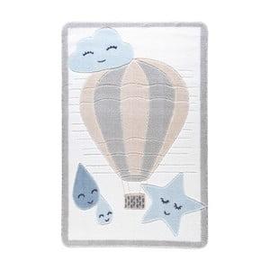 Jasnoniebieski dywan dziecięcy Confetti Cloudy, 133x190 cm