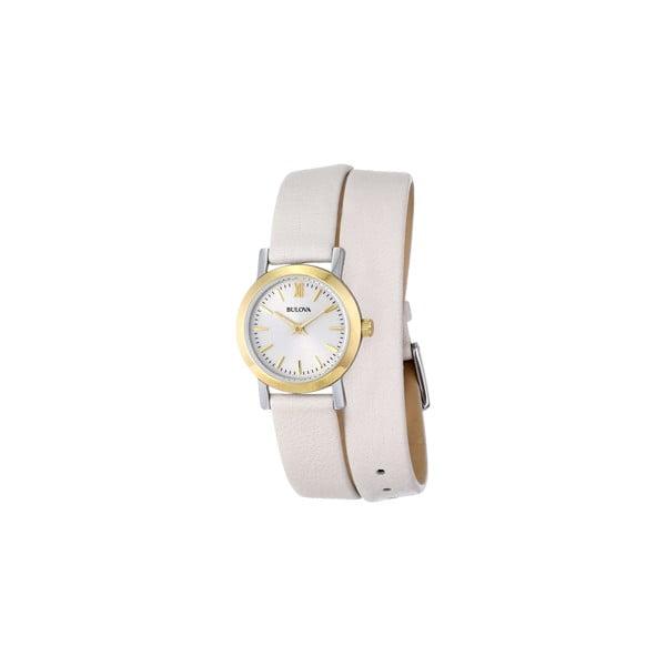 Zegarek damski Bulova 98193 Cream/Grey