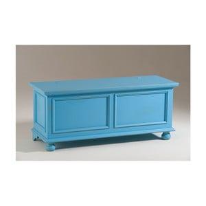 Niebieska skrzynia drewniana Castagnetti Chest