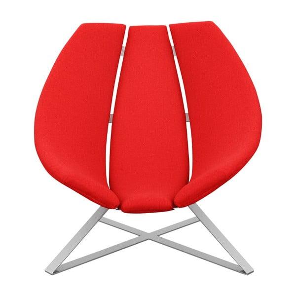 Czerwony fotel Softline Radar