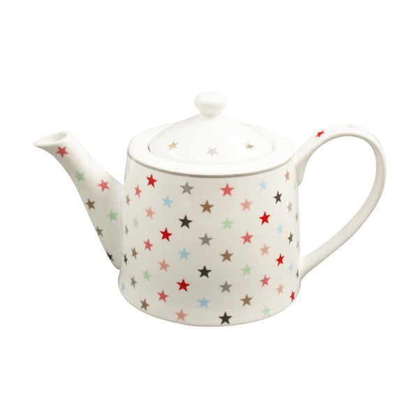 Dzbanek na herbatę Krasilnikoff White Multi