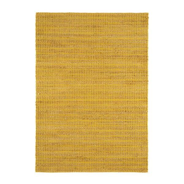 Jutowy dywan Ranger Mustard, 100x150 cm