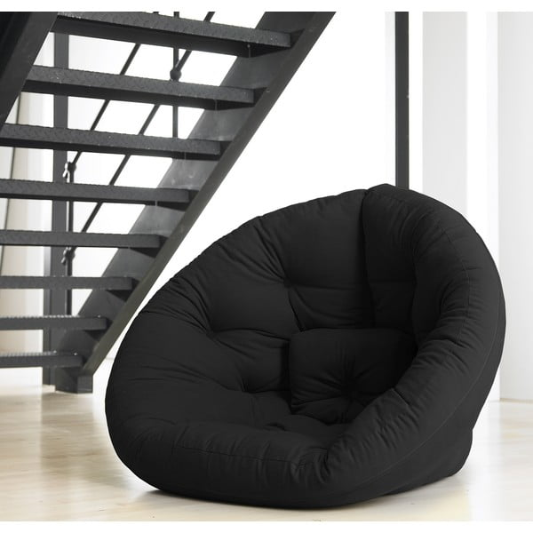 Fotel rozkładany Karup Baby Nest Black