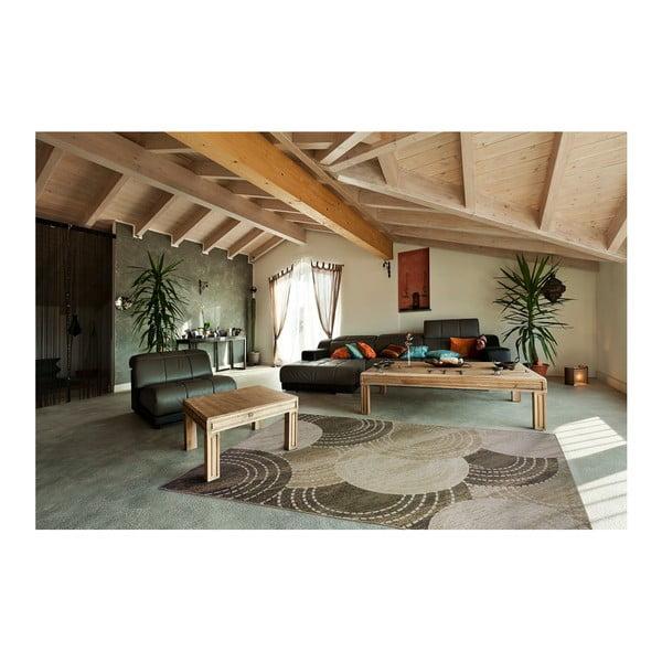 Brązowo-beżowy dywan Universal Belga, 70x220 cm