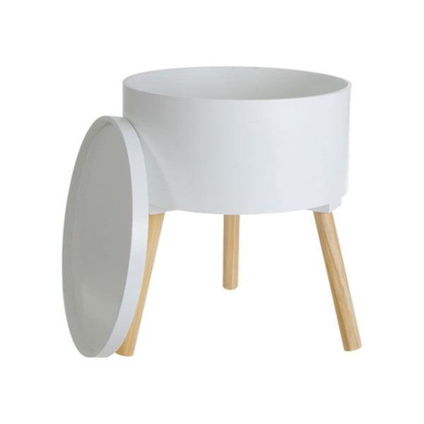 Stolik Cosas de Casa Nordic Style ze zdejmowaną pokrywką