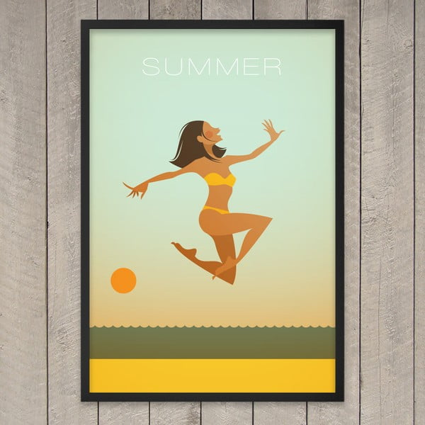 "Plakat ""Summer"", 29,7x42 cm"