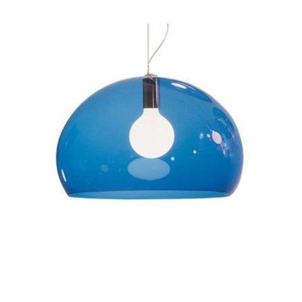 Niebieska lampa wisząca Kartell Fly