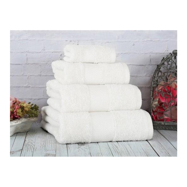 Biały ręcznik Irya Home Coresoft, 70x130 cm