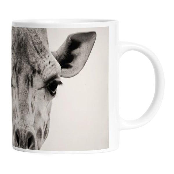 Ceramiczny kubek Giraffe Gifi, 330 ml