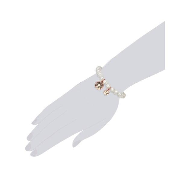 Perłowa bransoletka Ina, perła 8 mm