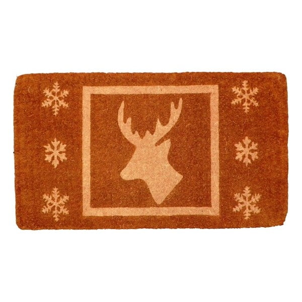 Wycieraczka Christmas Deer Brown, 73x45 cm