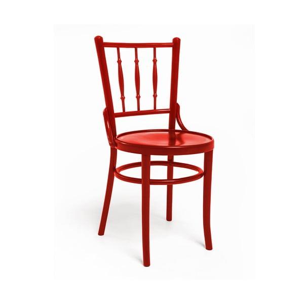 Czerwone krzesło Woodman Hertford model 6020
