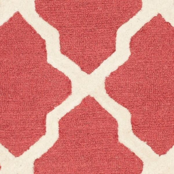 Dywan Ava 152x243 cm, czerwony