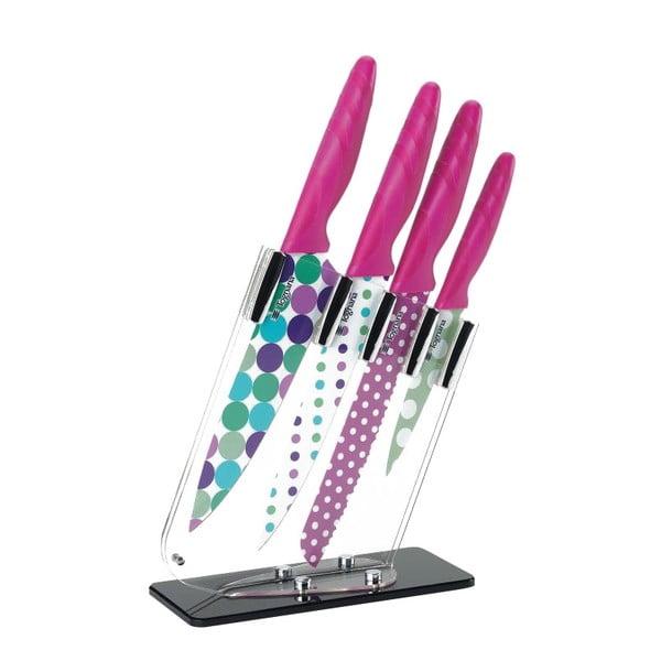 Zestaw noży kuchennych Red Block, 4 sztuki