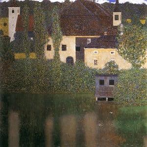 Reprodukcja obrazu Gustava Klimta - Water Castle, 50x50 cm