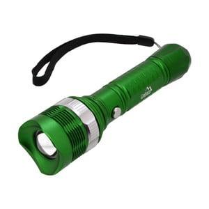 Zielona kieszonkowa latarka LED Cattara ZOOM