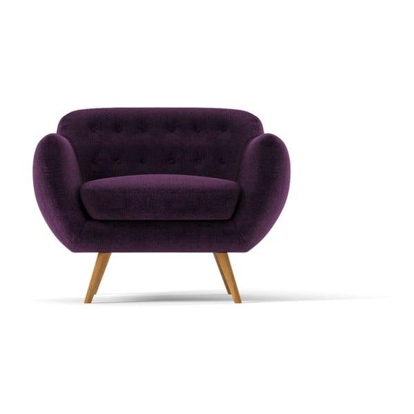 Fotel Indigo, fioletowy