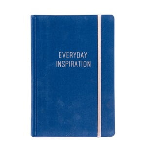Niebieski notes Tri-Coastal Design Everyday Inspiration
