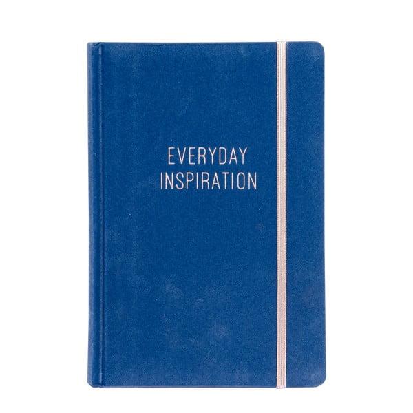Niebieski notes Tri-Coastal Design Everyday Inspiration