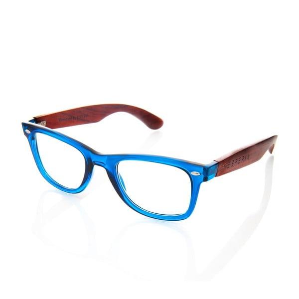 Drewniane okulary optyczne Eyewear Number One Blue
