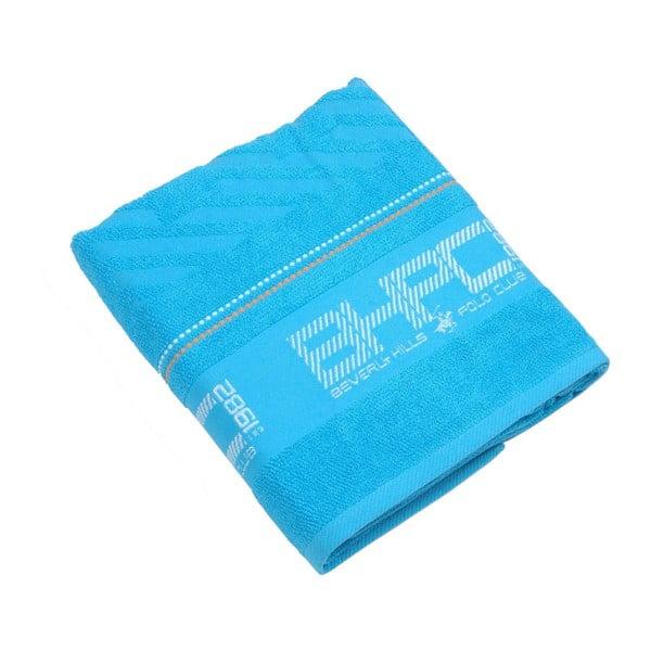 Ręcznik bawełniany BHPC 80x150 cm, pastelowy niebieski